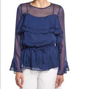 See by Chloe Blue Night Top